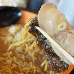麺や虎鉄 - 巻き