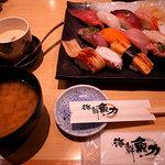 魚力海鮮寿司 - 特盛海鮮にぎり
