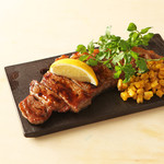キリン一番搾りガーデン - サーロインレモンステーキ