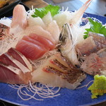 福浦漁港 みなと食堂 - 刺身