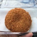 道の駅 かわもと - 料理写真:深谷ネギメンチ 120円
