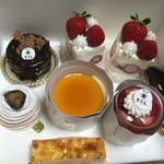 苺凛香 - おみやげに買ったケーキ!種類はどんどん増えていっているみたいです。