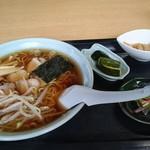 竹馬 - 料理写真:チャ-シュウ麺500円