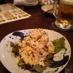 醸し屋 素郎slow - ポテサラ…ハムとマカロニも入ってます
