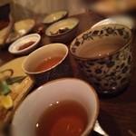 醸し屋 素郎slow - 〆でほうじ茶を頂きました♪