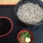小島 - 料理写真:釜揚げ蕎麦