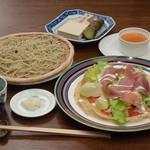 蕎麦処 空庵 - ガレットセット