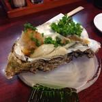 十三 すし屋台 - 岩牡蠣