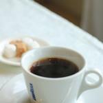 アクア オリビン - 食後のコーヒー (キャラバン珈琲でした)