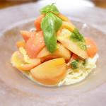 ラ ブォナ ヴィータ - 冷製フルーツトマトパスタ
