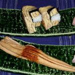 いわ樹 - 自慢の煮穴子とたまご