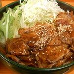 復活!カルピ丼 - カルビ丼大盛