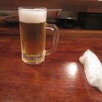 居酒屋いくどん - ビールで一息