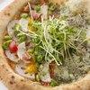 ハーフ&ハーフ 野菜ピザとテラスピザ