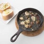 海老とマッシュルームのアヒージョ(ディナーのみ)