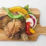 【鶏】 辛ジャークチキン 鶏もも肉のグリル(ディナーのみ)