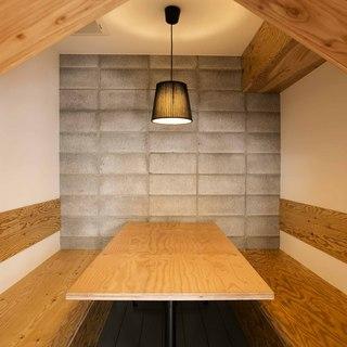 隠れ家風の個室