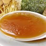 めんくい亭 - 料理写真:ラーメン大(スープ)