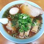 梅光軒 - 料理写真:【しょうゆらーめん + 煮卵】¥750 + ¥100