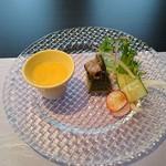 鳥蔵別邸 東屋 - 東屋彩り弁当(前菜)