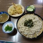 天よし - 料理写真:蕎麦&天ぷら 2016年7月