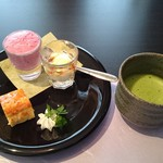 鳥蔵別邸 東屋 - 東屋彩り弁当(デザート)