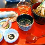 ミタケ・オアシン - 丼ぶりセット