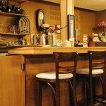 カフェ・サラマンジェ - 右側