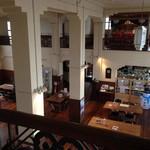 豊郷小学校旧校舎内カフェ - カフェ(旧図書館棟2階から)