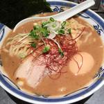 つけ麺や 武双 - 鶏魚介・味玉らーめん(1000円)