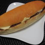 こっぺぱんとフレッシュサンドの店 ウイングベーカリー - こっぺぱん(あんバター・こし) 230円