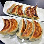 麺屋 愛心 - 名物・愛心餃子(2016年7月)