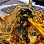麺屋 愛心 - 香辣麻婆麺(2016年7月)
