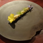 La Kanro - 一品目 Amuse 胡瓜 毛蟹