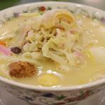 江山楼 - 料理写真:王さんの特上ちゃんぽん