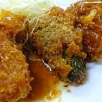 倉井ストアー - ピーマン肉詰め330円