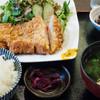 なごみだいにんぐ飛梅 - 料理写真:JapanXとんかつ定食(ランチメニュー):880円/2016年7月