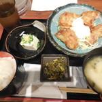 九州 熱中屋 - チキン南蛮定食 ¥750-