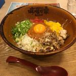 味噌乃家 - 夏季限定 肉味噌和え麺 ¥780 (2016.7.12)