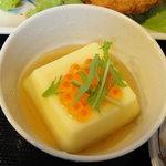 奉天軒 - 玉子豆腐