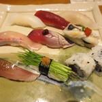 ほまれ - 料理写真:季節のおまかせ握り寿司