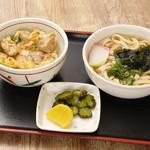ちとせ - ミニ親子丼セット 500円