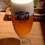 元祖壁の穴 - 生ビール