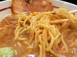 らー麺 あけどや - 味噌ラーメンアップ
