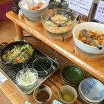 工場レストラン健食たぬみせ - サラダ