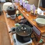 工場レストラン健食たぬみせ - 納豆味噌汁&納豆カレー