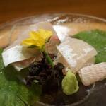 日本料理 太月 - 鱧のお椀マコガレー