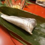 日本料理 太月 - こはだ鮨のちまき
