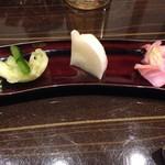 日本酒×和創作料理 香酒 鞘 - 香の物:十勝産漬物盛り