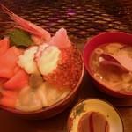 栄丸民宿 - 〆のご飯と思っていたら・・・